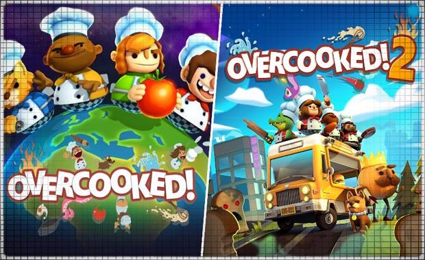 Overcooked + Overcooked 2 Аренда для PS4